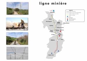 Ligne Minière Est: 588 km