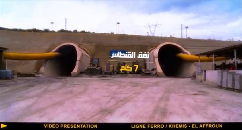 le plus long tunnel ferroviaire en afrique